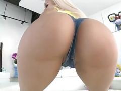 PAWG Blonde Latina Bum Fucked