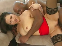 Black lad and moreover hot Korean wolad taking bbc