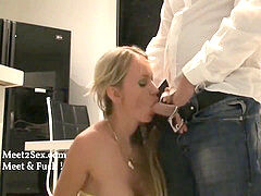 new Neighbor Fucks My Swedish Mom and spunks in Her jaws