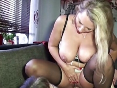German Eager mom seduce Stranger Boy to Have an intercourse from Scout69