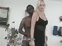 Norwegian nymph interracial