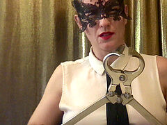 emasculation fantasy RolePlay - dominatrix HW Venus from LiveJasmin.