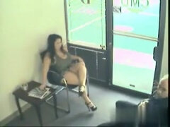 Huge-Boobed Honey Deep Throats Jizz-Shotgun