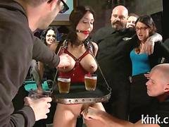 busty waitress punished bdsm porn 1