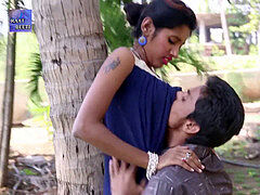 Indian teenager passionate kissing