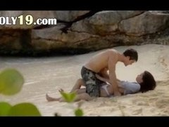 extremely unbelievable lovers sex on the beach