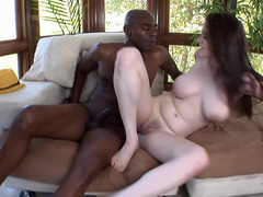 Nasty redhead slut was asking for a rod and that's what she got