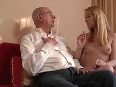 Old Young porno grandpa likes to fuck young girls and lick vags