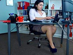 SEXY Secretaries AT THE OFFICE