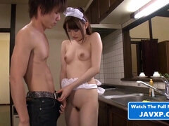 Very Horny Asian Young Cutie Maid