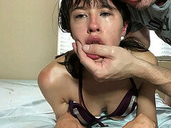 crying Whores Choked spanked drool On Compilation