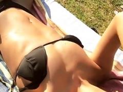 Luna Djogani Showing Her Body