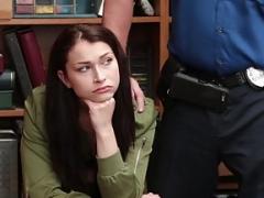 Knob Punishment For Teen Thief