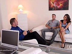 3some Therapy - Busty Goddess Sensual Jane Fucked By Doctor And moreover Husband
