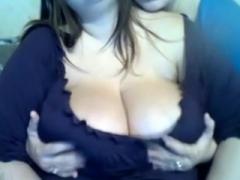 Dilettante Brunette Oiled Big Boobs