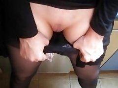 Cum eruption In Her Slip