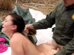 Blonde police officer Backdoor for Tight Butt Latina