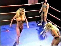 Topless Proficient Ring Wrestling