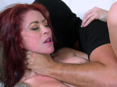 Cuckold section demonstrates how criminal humiliates ginger