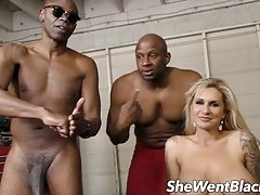 Large Titty Milf Double Penetrated by Black Cocks