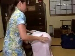 Punishment from all moms FFspanking