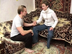 Russian old MILF gives blowjob