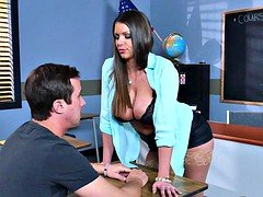 Brazzers  Sexy soccer mom Brooklyn Chase teaches her student