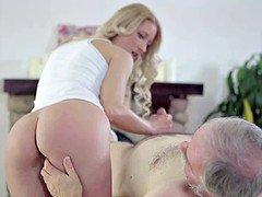 Grandpa also loves his granddaughter