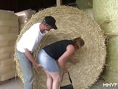 Slightly fat Farmer German Granny