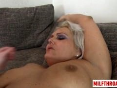 Large ass milf oral and cum on tits