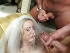 Kelly Wells, gang-fuck bride.