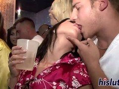 hot chicks get kinky at the club clip