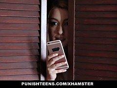 PunishTeenages- Hot Groupie Teenage Fucked By Busty Blonde Soccer mom