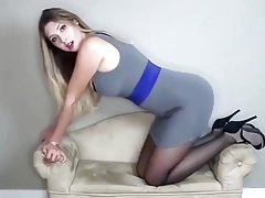 pantyhose joi from Julia
