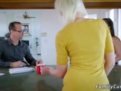 Dad gets down and dirty compeer's daughter in front of mother and me ass daddy no 1