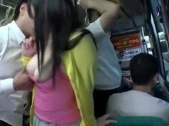 Thick Japanese Babe fucked on Bus-more on : slc.cx/Jhfa
