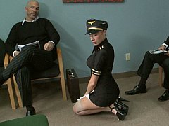 Sweet airline stewardess