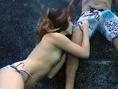 Underwater Oral sex And Riding