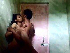 Bangla female penetrated in toilet