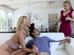 BadMILFS- Aroused Cougar Fucks Daughters Boyfriend