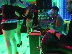 Scorching turkish honeys Dancing in nightclub