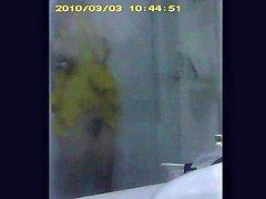 Client showering