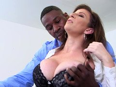 BBC for teacher whore Sara Jay satisfies her cunt