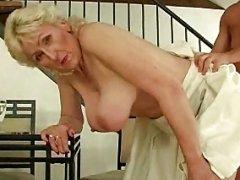 Blond Hairy Granny R20