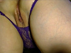 Amateur curvy wife fucked with huge doggy style creampie