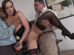 Hot whore sucks a dick & she swcompletely allows completely all the cum