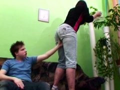 Slutty Stepson Gets down and dirty His Shaggy Pussied Stepmom