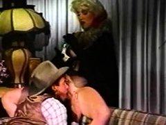 Superb classic xxx star in classic sex scene