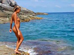 Undressed Swimming (Nudist) (Exhibitionist)