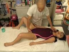 Schoolgirl Bathing Suit Rubdown 4of4 censored ctoan